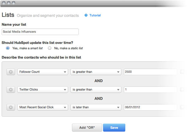 marketing segmentation email marketing