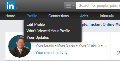 how to change url linkedin
